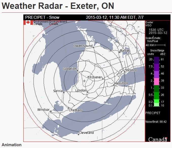 Weather Radar - Click Here