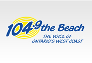 Logo for 104.9 The Beach